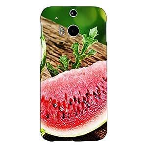 Jugaaduu Watermelon Back Cover Case For HTC One M8 Eye