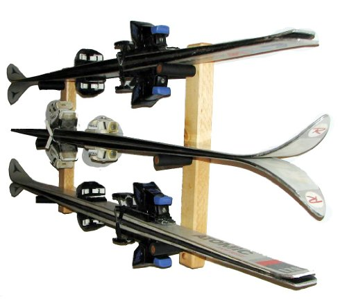 Ski Storage | 3 Skis Horizontal