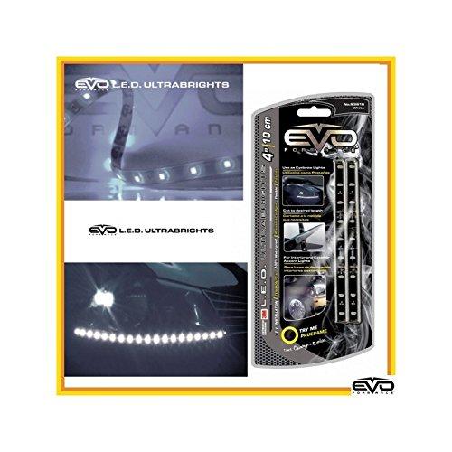 Bande LED blanche ultrabrights 10 cm