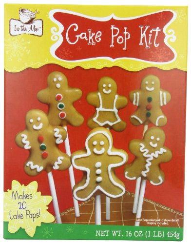 In the Mix Gingerbread Cake Pop Kit, Man, 16.43 Ounce