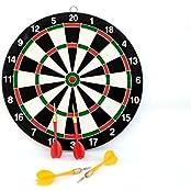 Pink Pari Small Indoor Dart Board Games Magnetic Darts Set For Kids
