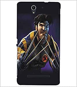 SONY XPERIA C3 CARTOON CHARACTER Designer Back Cover Case By PRINTSWAG