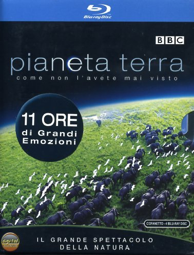 Pianeta Terra Cofanetto (4 Blu-Ray+Booklet) [Italia] [Blu-ray]