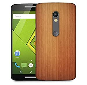 Snoogg Plain Wood Laminate Designer Protective Phone Back Case Cover For Motorola Moto X Play