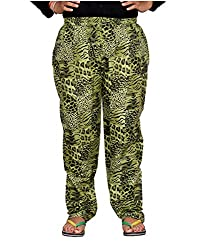 Bright & Shining Women Olive Cotton Pyjama