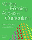 img - for Writing and Reading Across the Curriculum (13th Edition) book / textbook / text book