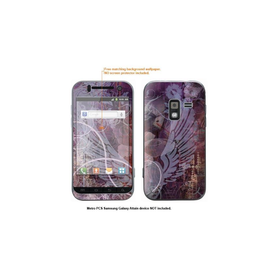 Protective Decal Skin Sticker for Metro PCS Samsung Galaxy Attain 4G case cover Attain 567