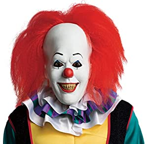 Rubie's Costume Men's It Pennywise Adult Mask, Multi, One Size