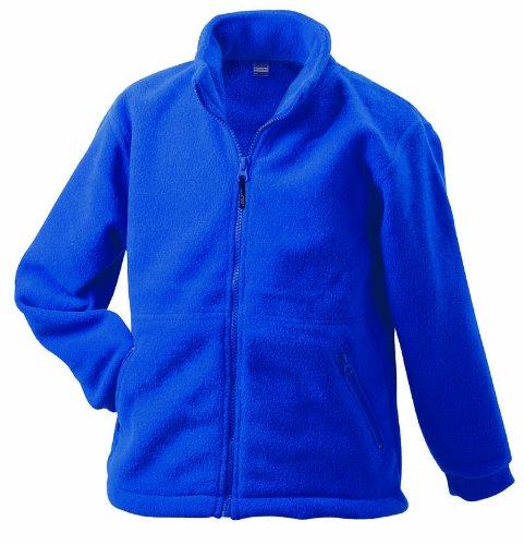 James & Nicholson Men's Fleece Jacket Full-zip