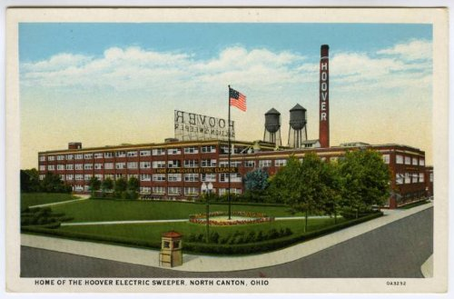 Home of the Hoover Electric Sweeper in North Canton, Ohio