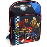 Nintendo Mario Kart Wii Large School Backpack