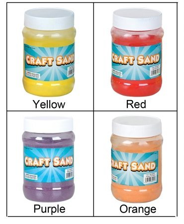Craft Sand (Yellow) Party Accessory