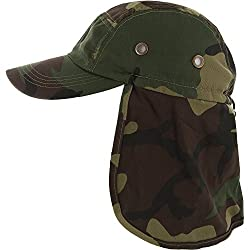 e0ef90af7d0 57%off DealStock Fishing Cap with Ear and Neck Flap Cover - Outdoor Sun  Protection