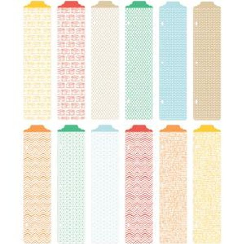 Project Life Designer Dividers + Label Stickers - Jade Edition