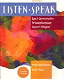 img - for Listenspeak: Ease in Communication for Second Language Speakers of English book / textbook / text book