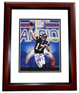 Phillip Rivers Autographed Hand Signed San Diego Chargers 8x10 Photo MAHOGANY CUSTOM... by Real Deal Memorabilia