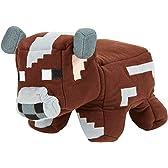 Minecraft Reversible Plush - Cow To Raw Beef  マインクラフト リバーシブル ぬいぐるみ 牛から生の牛肉