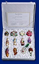 Old World Christmas Bride\'s Collection Ornament Box Set