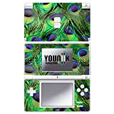 YOUNiiK Styling Skins Cover Sticker Nintendo DS Lite - Peacock