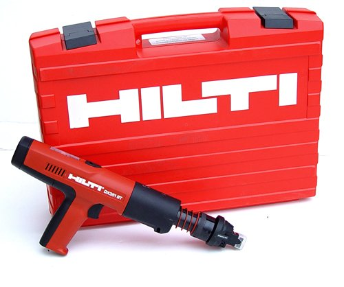 Hilti 00377607 DX351-BT Fully Automatic Powder-Actuated Tool with Impact Resistant Case