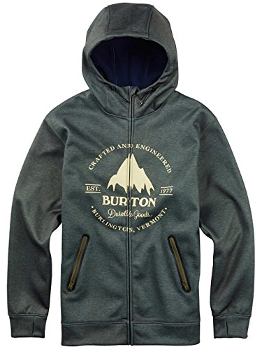 Burton BONDED HOODED Olive night heather Fall Winter 2016 - XXL
