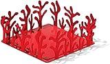 Alessi ESI18 R - Servilletas, color rojo