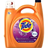 Tide Plus Febreze Freshness High Efficiency Liquid Laundry Detergent, Spring and Renewal, 138 Fluid Ounce