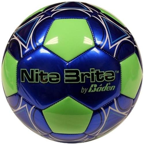 Baden S140G-105A-F Nite Brite Size 4 Glow-in-the-Dark Soccer Ball (Nite Brite Football compare prices)
