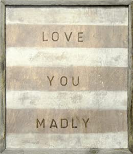 Amazon.com - Sugarboo Designs Art Print AP142 Love You Madly, 24 ...