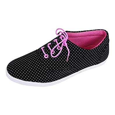 Footshez New Arrival Best Hot Selling women's black casual shoes Low Price Sale