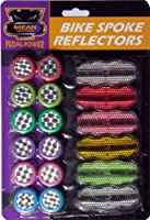 18 REFLECTORS Bicycle Bike Cycle Spoke be seen be safe