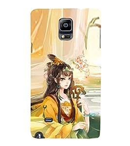 EPICCASE fairy princess Mobile Back Case Cover For Samsung Galaxy Note 4 EDGE (Designer Case)