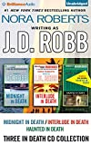 J. D. Robb 3-in-1 Novellas Collection: Midnight in Death, Interlude in Death, Haunted in Death (In Death Series)