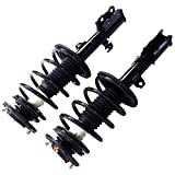 MILLION PARTS Complete Front Left & Right Strut Shock Coil Spring Assembly for 2003 2004 2005 2006 2007 2008 Toyota Corolla 1.8L L4