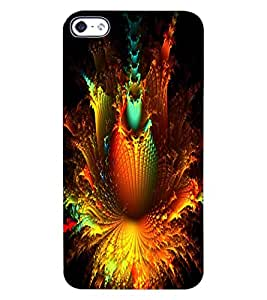 ColourCraft Abstract Design Back Case Cover for APPLE IPHONE 4S