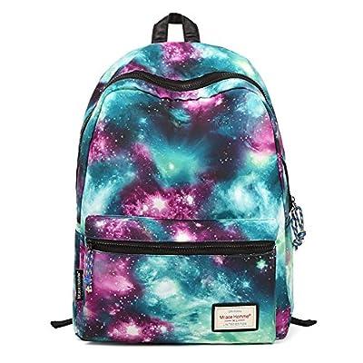 Galaxy Pattern Unisex Travel Backpack Canvas Leisure Bags School bag Rucksack