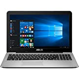 ASUS X555DA-WS11 15.6-inch Laptop (AMD Quad Core A10-8700P 1.8 GHz, Turbo to 3.2 GHz , 8GB GDDR3 RAM, 1000 GB Hard Drive, Windows 10), Dark Grey