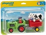 PLAYMOBIL 6715 - Traktor mit Anhänger