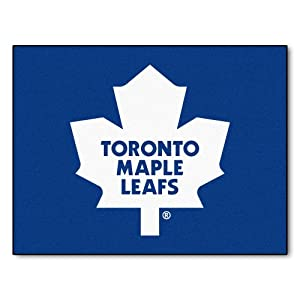 FANMATS NHL Toronto Maple Leafs Nylon Face All-Star Rug by Fanmats