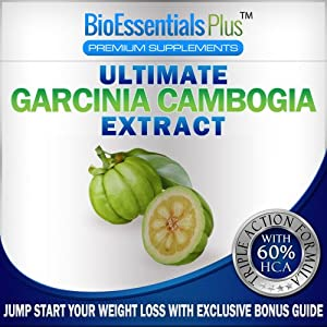Garcinia Cambogia Extract - Premium Weight Loss Supplement withAll Natural Appetite Suppressant &Fat Burner. 1300 mg Formula with 60 Percent Pure HCA, Calcium, Chromium, and Potassium for Safe and Effective Weight Loss.100% Weight Loss Guarantee