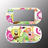 Spongebob Squarepants Patrick Gummy Video Game Vinyl Decal Sticker Cover Skin Protector Sony Playstation PS Vita Slim PCH 2000 2001 2002 2003 Console System