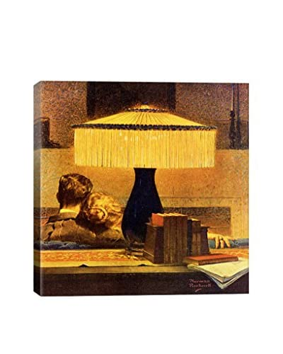 Norman Rockwell All's Right Says the Light Giclée Print