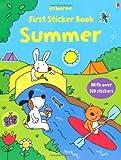 First Sticker Book: Summer (Usborne First Sticker Books)