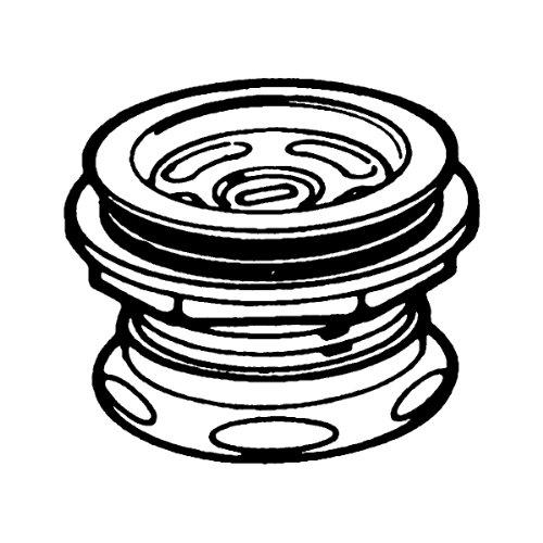 ... - Moen 22201 2-Inch Sealtite Drain Assembly, Stainless Steel