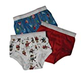 Carter's Boys 2-7 Rock Monkey Briefs 3Pair Pack