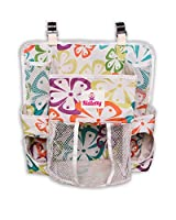 Kidletty baby diaper, playard & nursery organizer. Improved size and fashion. 16 x 16 + Reliable Hooks. by Kidletty