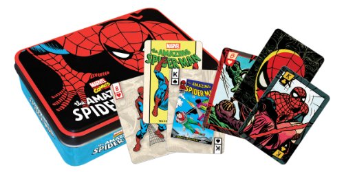 Spiderman Playing Card Tin