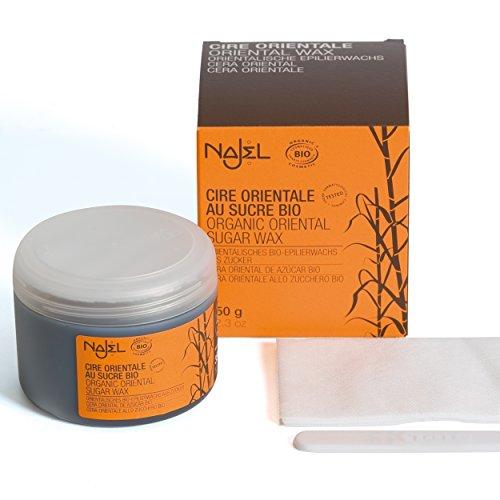 Najel Marrakech Accessoires epilier Bio cera di zucchero, 2er Pack (2x 450grams)