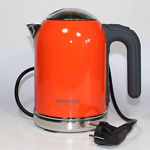Kenwood Kmix Stainless Steel Electric Cordless Tea Kettle Sjm017 Orange 0.75L + (4Gb Usb Flash Drive)