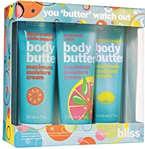 Bliss 3 Piece Holiday Assortment Kit, You Butter Watch Out
